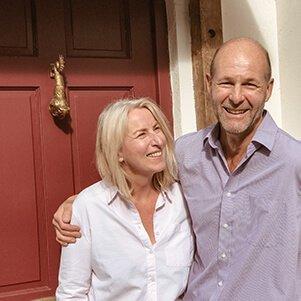 Jenny Mack and Mike Adams