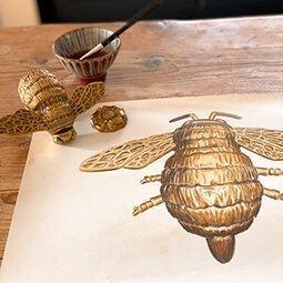 bee door knocker creation and design